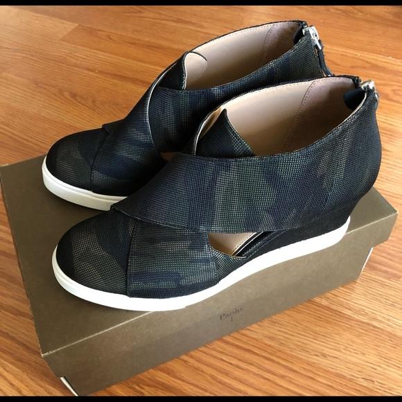 Linea Paolo Faith Wedge Sneaker Camo